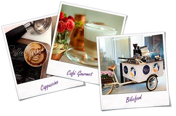 Fotos barista - Cappuccino, Café Gourmet, Bikefood