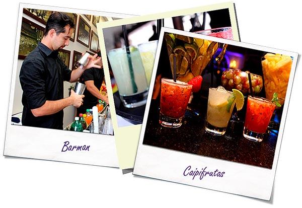 Fotos Barman, Caipifrutas